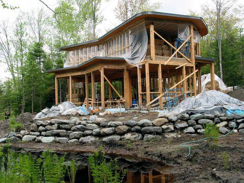 House build in progress
